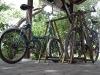 Велостійка на чотири ровера
