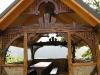 Приватна садиба «Гомул», дерев'яна альтанка