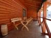 Літня тераса для відпочинку в Карпатах