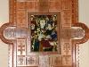 Обрамлення до ікони, Шушкевич І. Я., дерево груші, обрамлення, різьба, інкрустація