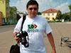 Чиж на першому велодні у Косові