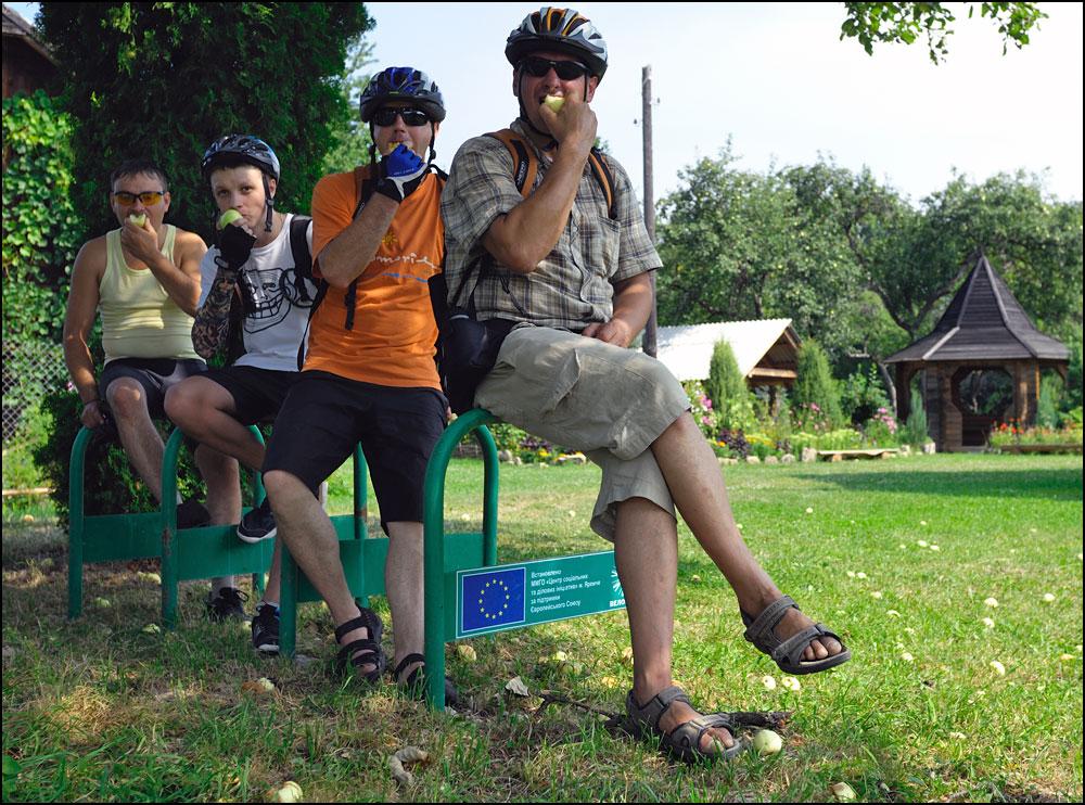 Велотріп в Косів — Рибне (через Кобаки)