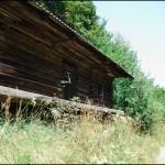Стара хата біля дороги