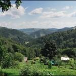 Панорама села Снідавка