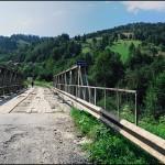 Міст через річку Брустурку