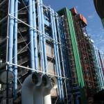 ...центр Жоржа Помпіду, теж музей, який чомусь нагадує блок теплової електростанції
