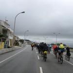 Кількатисячний пелетон учасників зльоту розтягнувся на декілька кілометрів в перший день відкриття дорогами Муртози
