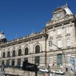 ...до залізничного вокзалу.Після шістдесятикілометрової подорожі під липневим сонцемі з перспективою кількагодинної екскурсії містом вирішили повертатись в Торейро поїздом