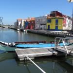 Авейру ще називають португальською Венецією. ( Авейру частина повного імені футболіста Роналду ). Великий канал із всюдисущими молісейрами