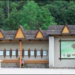 Центр Яворова з пам'ятником Юрію Шкрібляку — основоположнику гуцульської різьби по дереву