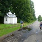 Аж поки не виїхали на дорогу селами, якою і будемо вздовж Пістиньки підніматися в гори
