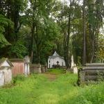 Заїхали на старе польське кладовище, але воно було закрите
