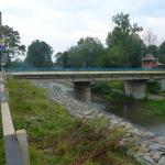 Проїхали вздовж річки Рибниці