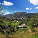 Село особливо відзначається гарними краєвидами