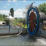 Несподівано: форельне господарство з водяним колесом